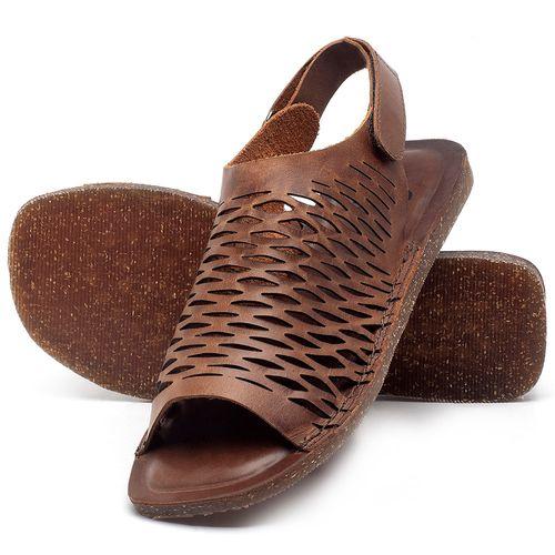 Laranja_Lima_Shoes_Sapatos_Femininos_Sandalia_Rasteira_Flat_em_Couro_Marrom_-_Codigo_-_141106_2