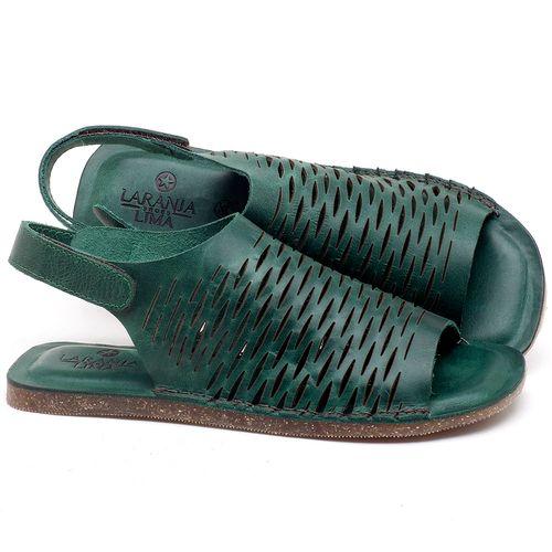Laranja_Lima_Shoes_Sapatos_Femininos_Sandalia_Rasteira_Flat_em_Couro_Verde_-_Codigo_-_141106_1