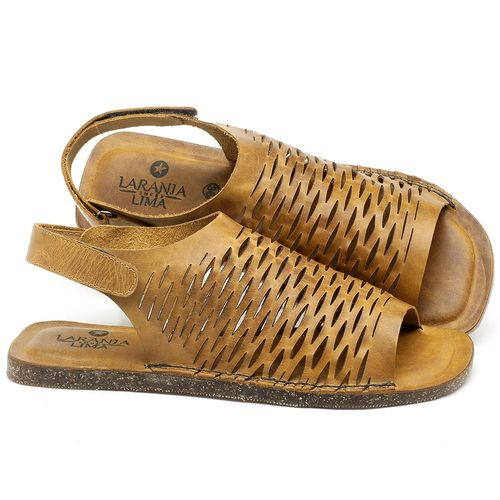 Laranja_Lima_Shoes_Sapatos_Femininos_Sandalia_Rasteira_Flat_em_Couro_Amarelo_-_Codigo_-_141106_1