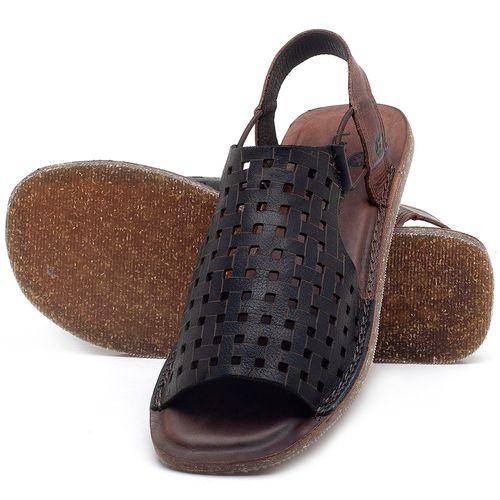 Laranja_Lima_Shoes_Sapatos_Femininos_Sandalia_Rasteira_Flat_em_Couro_Preto_-_Codigo_-_141107_2
