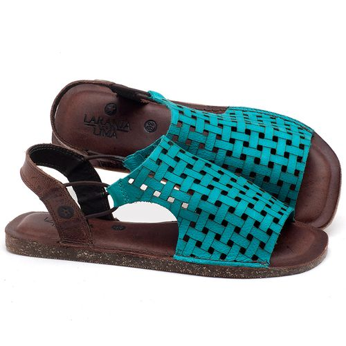 Laranja_Lima_Shoes_Sapatos_Femininos_Sandalia_Rasteira_Flat_em_Couro_Azul_-_Codigo_-_141107_1