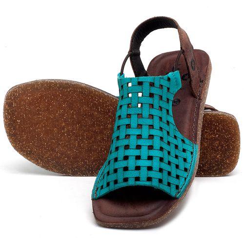 Laranja_Lima_Shoes_Sapatos_Femininos_Sandalia_Rasteira_Flat_em_Couro_Azul_-_Codigo_-_141107_2