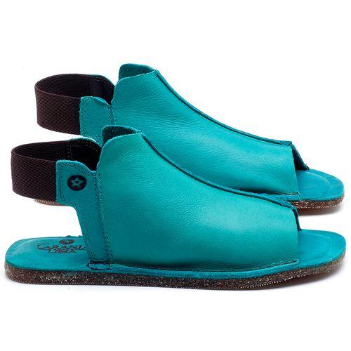 Laranja_Lima_Shoes_Sapatos_Femininos_Sandalia_Rasteira_Flat_em_Couro_Azul_-_Codigo_-_141116_1