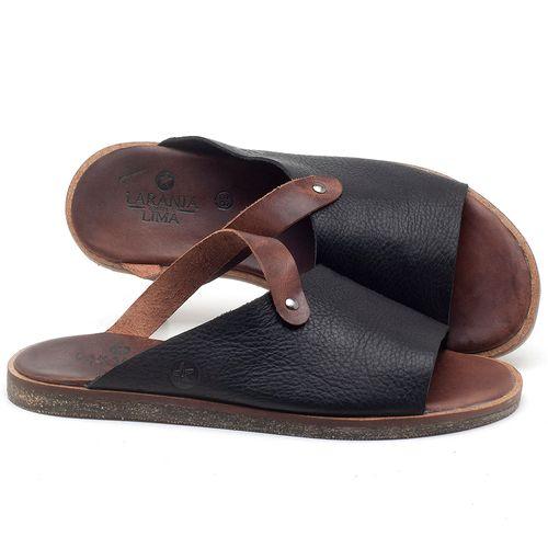 Laranja_Lima_Shoes_Sapatos_Masculinos_Rasteira_em_Couro_Preto_-_Codigo_-_141118_1