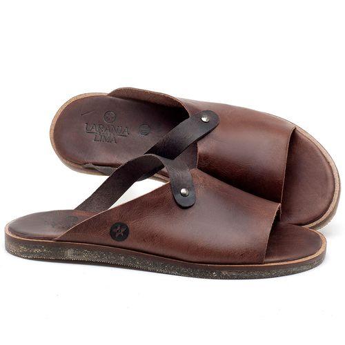 Laranja_Lima_Shoes_Sapatos_Masculinos_Rasteira_em_Couro_Marrom_-_Codigo_-_141118_1