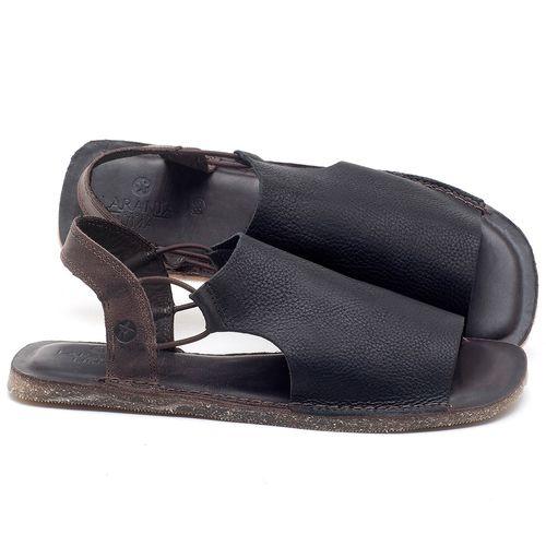 Laranja_Lima_Shoes_Sapatos_Masculinos_Rasteira_em_Couro_Preto_-_Codigo_-_141119_1