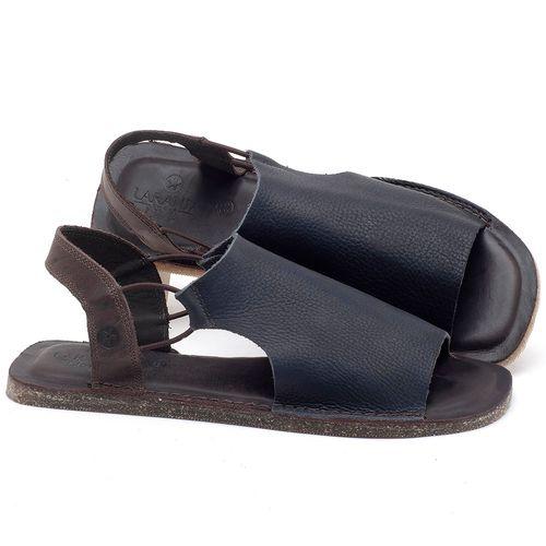 Laranja_Lima_Shoes_Sapatos_Masculinos_Rasteira_em_Couro_Azul_-_Codigo_-_141119_1