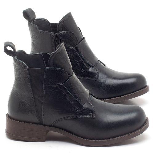 Laranja_Lima_Shoes_Sapatos_Femininos_Bota_Cano_Curto_em_Couro_Preto_-_Codigo_-_141120_1
