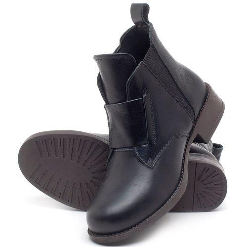 Laranja_Lima_Shoes_Sapatos_Femininos_Bota_Cano_Curto_em_Couro_Preto_-_Codigo_-_141120_2