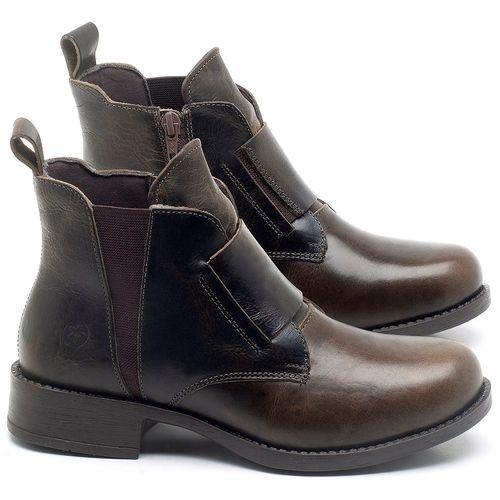 Laranja_Lima_Shoes_Sapatos_Femininos_Bota_Cano_Curto_em_Couro_Marrom_-_Codigo_-_141120_1