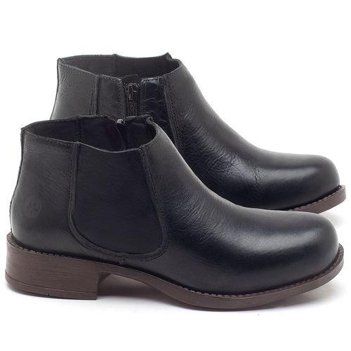 Laranja_Lima_Shoes_Sapatos_Femininos_Bota_Cano_Curto_em_Couro_Preto_-_Codigo_-_141121_1