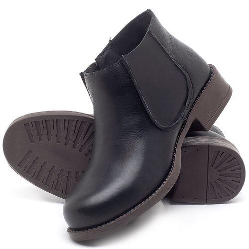 Laranja_Lima_Shoes_Sapatos_Femininos_Bota_Cano_Curto_em_Couro_Preto_-_Codigo_-_141121_2