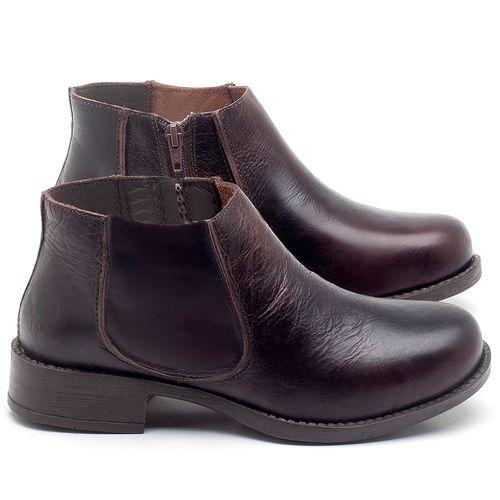 Laranja_Lima_Shoes_Sapatos_Femininos_Bota_Cano_Curto_em_Couro_Cafe_-_Codigo_-_141121_1