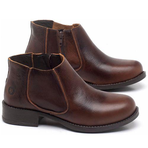 Laranja_Lima_Shoes_Sapatos_Femininos_Bota_Cano_Curto_em_Couro_Marrom_-_Codigo_-_141121_1