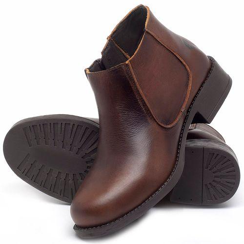 Laranja_Lima_Shoes_Sapatos_Femininos_Bota_Cano_Curto_em_Couro_Marrom_-_Codigo_-_141121_2