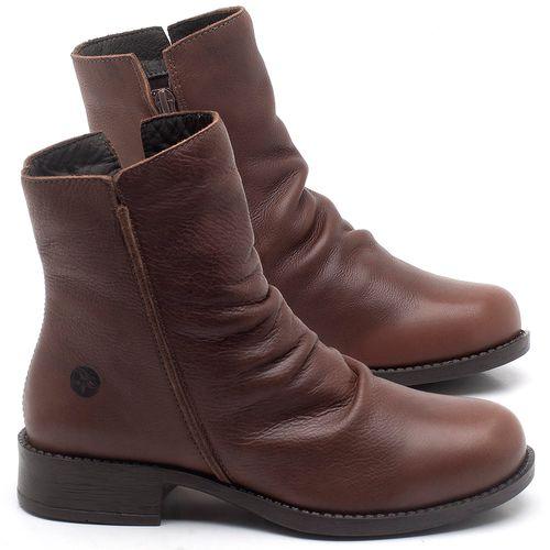 Laranja_Lima_Shoes_Sapatos_Femininos_Bota_Cano_Curto_em_Couro_Marrom_-_Codigo_-_141122_1