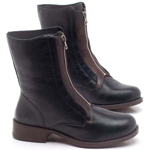 Laranja_Lima_Shoes_Sapatos_Femininos_Bota_Cano_Medio_em_Couro_Preto_-_Codigo_-_141123_1