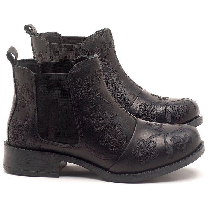 Laranja_Lima_Shoes_Sapatos_Femininos_Bota_Cano_Curto_em_Couro_Preto_-_Codigo_-_141126_1