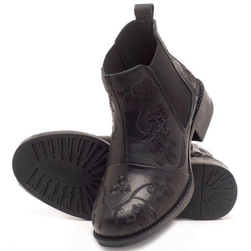 Laranja_Lima_Shoes_Sapatos_Femininos_Bota_Cano_Curto_em_Couro_Preto_-_Codigo_-_141126_2