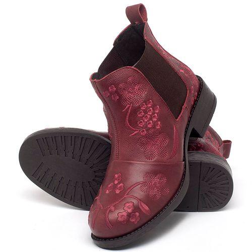 Laranja_Lima_Shoes_Sapatos_Femininos_Bota_Cano_Curto_em_Couro_Vinho_-_Codigo_-_141126_2