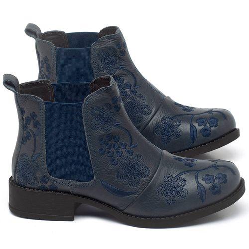 Laranja_Lima_Shoes_Sapatos_Femininos_Bota_Cano_Curto_em_Couro_Marinho_-_Codigo_-_141126_1