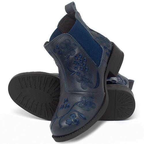 Laranja_Lima_Shoes_Sapatos_Femininos_Bota_Cano_Curto_em_Couro_Marinho_-_Codigo_-_141126_2