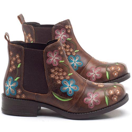 Laranja_Lima_Shoes_Sapatos_Femininos_Bota_Cano_Curto_em_Couro_Marrom_-_Codigo_-_141126_1