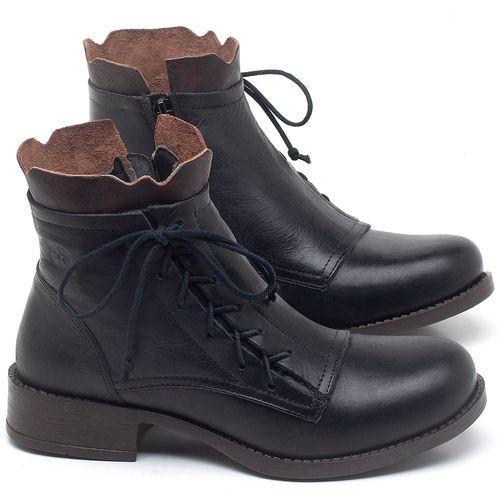 Laranja_Lima_Shoes_Sapatos_Femininos_Bota_Cano_Curto_em_Couro_Preto_-_Codigo_-_141129_1