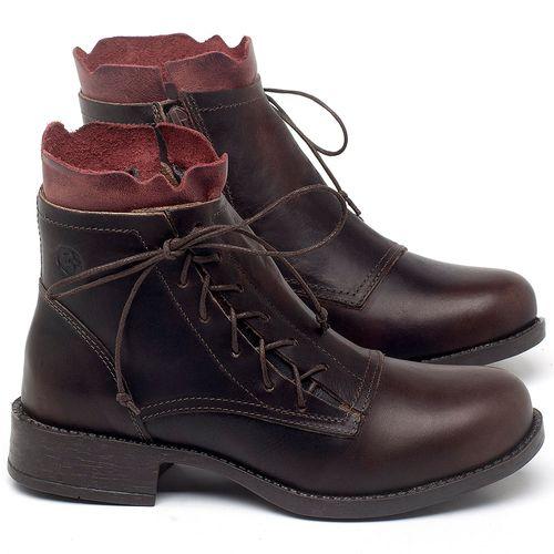 Laranja_Lima_Shoes_Sapatos_Femininos_Bota_Cano_Curto_em_Couro_Cafe_-_Codigo_-_141129_1