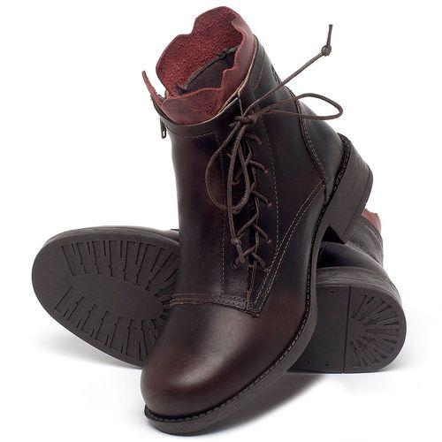 Laranja_Lima_Shoes_Sapatos_Femininos_Bota_Cano_Curto_em_Couro_Cafe_-_Codigo_-_141129_2