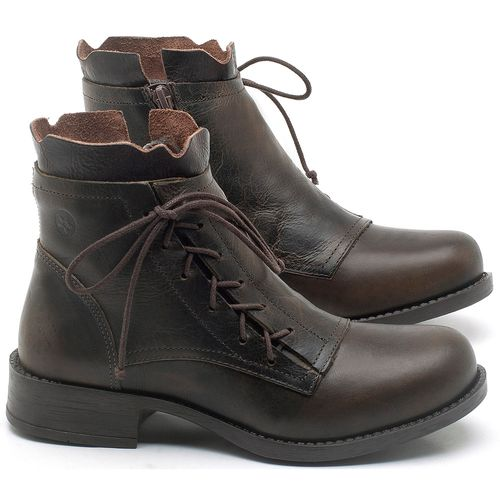 Laranja_Lima_Shoes_Sapatos_Femininos_Bota_Cano_Curto_em_Couro_Marrom_-_Codigo_-_141129_1