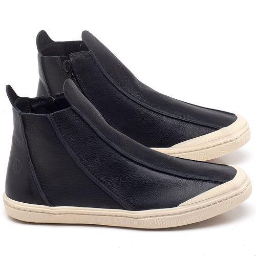 Laranja_Lima_Shoes_Sapatos_Femininos_Tenis_Cano_Alto_em_Couro_Preto_-_Codigo_-_141130_1