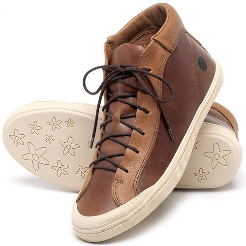 Laranja_Lima_Shoes_Sapatos_Femininos_Tenis_Cano_Alto_em_Couro_Caramelo_-_Codigo_-_141131_2