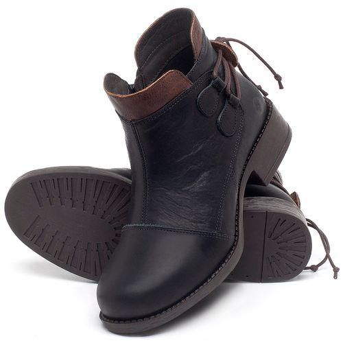 Laranja_Lima_Shoes_Sapatos_Femininos_Bota_Cano_Curto_Salto_de_3_cm_em_Couro_Preto_-_Codigo_-_141133_2