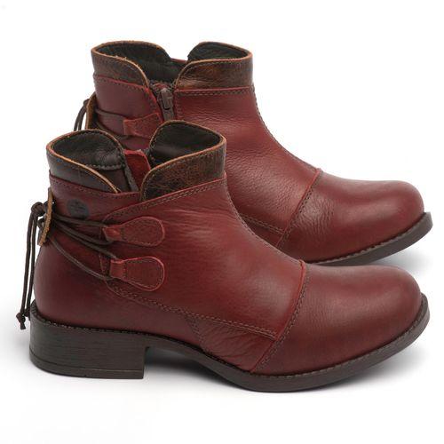 Laranja_Lima_Shoes_Sapatos_Femininos_Bota_Cano_Curto_Salto_de_3_cm_em_Couro_Vinho_-_Codigo_-_141133_1