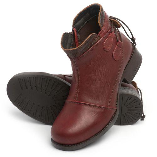 Laranja_Lima_Shoes_Sapatos_Femininos_Bota_Cano_Curto_Salto_de_3_cm_em_Couro_Vinho_-_Codigo_-_141133_2