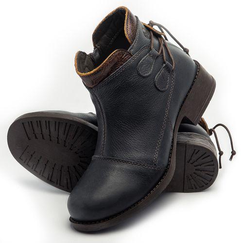 Laranja_Lima_Shoes_Sapatos_Femininos_Bota_Cano_Curto_Salto_de_3_cm_em_Couro_Marinho_-_Codigo_-_141133_2