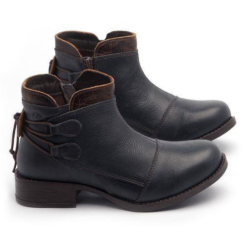 Laranja_Lima_Shoes_Sapatos_Femininos_Bota_Cano_Curto_Salto_de_3_cm_em_Couro_Marinho_-_Codigo_-_141133_1