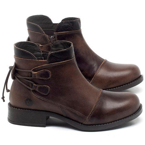 Laranja_Lima_Shoes_Sapatos_Femininos_Bota_Cano_Curto_Salto_de_3_cm_em_Couro_Marrom_-_Codigo_-_141133_1