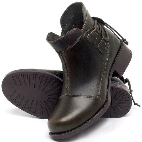 Laranja_Lima_Shoes_Sapatos_Femininos_Bota_Cano_Curto_Salto_de_3_cm_em_Couro_Verde_-_Codigo_-_141133_2