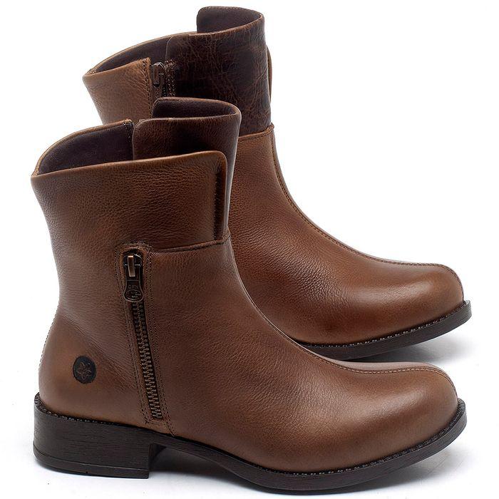 Laranja_Lima_Shoes_Sapatos_Femininos_Bota_Cano_Curto_Salto_de_3_cm_em_Couro_Caramelo_-_Codigo_-_141134_1