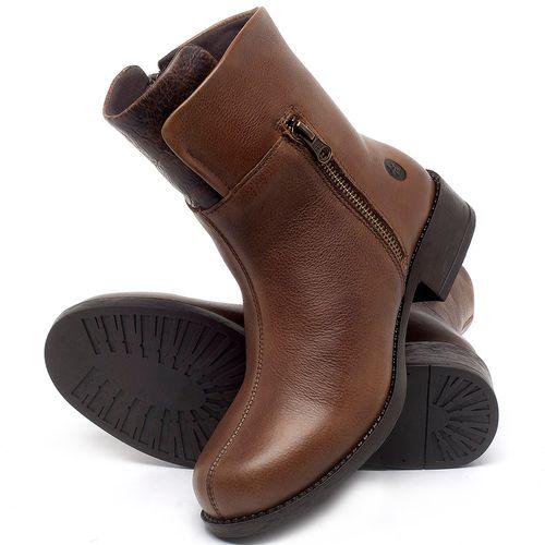 Laranja_Lima_Shoes_Sapatos_Femininos_Bota_Cano_Curto_Salto_de_3_cm_em_Couro_Caramelo_-_Codigo_-_141134_2