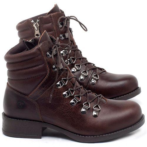 Laranja_Lima_Shoes_Sapatos_Femininos_Bota_Cano_Curto_Salto_de_3_cm_em_Couro_Marrom_-_Codigo_-_141136_1