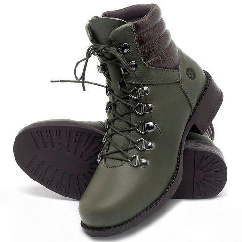 Laranja_Lima_Shoes_Sapatos_Femininos_Bota_Cano_Curto_Salto_de_3_cm_em_Couro_Verde_-_Codigo_-_141136_2