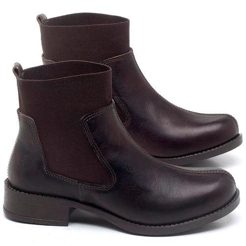 Laranja_Lima_Shoes_Sapatos_Femininos_Bota_Cano_Curto_Salto_de_3_cm_em_Couro_Cafe_-_Codigo_-_141137_1