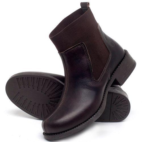 Laranja_Lima_Shoes_Sapatos_Femininos_Bota_Cano_Curto_Salto_de_3_cm_em_Couro_Cafe_-_Codigo_-_141137_2