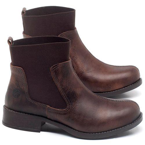 Laranja_Lima_Shoes_Sapatos_Femininos_Bota_Cano_Curto_Salto_de_3_cm_em_Couro_Marrom_-_Codigo_-_141137_1