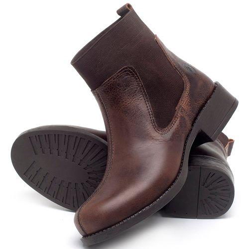 Laranja_Lima_Shoes_Sapatos_Femininos_Bota_Cano_Curto_Salto_de_3_cm_em_Couro_Marrom_-_Codigo_-_141137_2