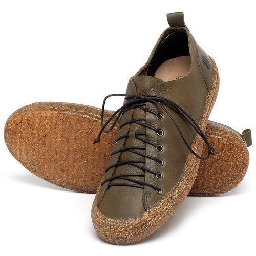 Laranja_Lima_Shoes_Sapatos_Masculinos_Tenis_Cano_Baixo_em_Couro_Verde_-_Codigo_-_141142_2