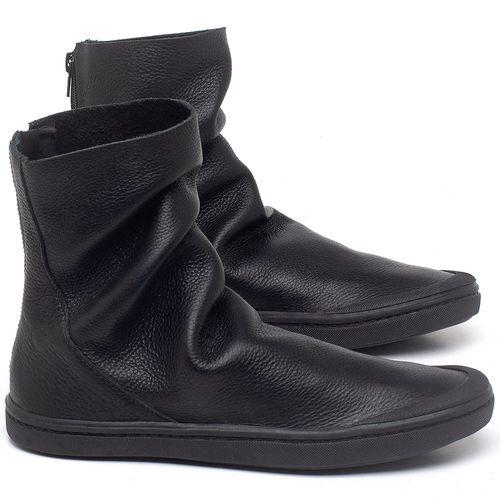 Laranja_Lima_Shoes_Sapatos_Masculinos_Tenis_Cano_Alto_em_Couro_Preto_-_Codigo_-_141143_1
